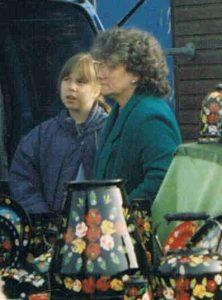 Carishei canalware stall in Walderslade, Kent. 1996