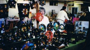 Canalware at a 1996 Summer Craft Fair